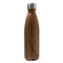bouteille isotherme wood yoko design