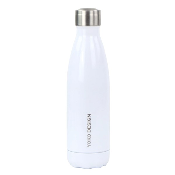bouteille isotherme blanche