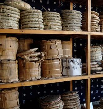 Conservation du thé Pu Erh