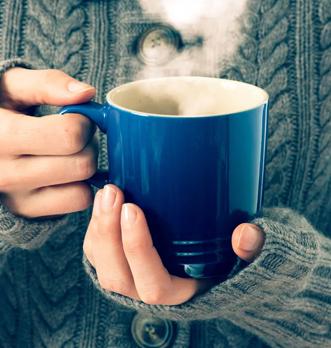 Garder le thé chaud