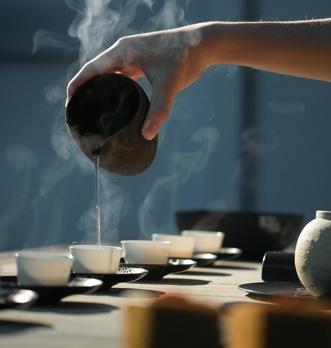 préparation du thé noir