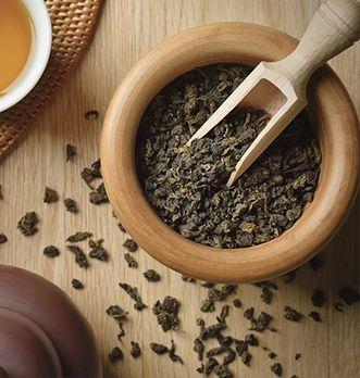 préparation du thé oolong