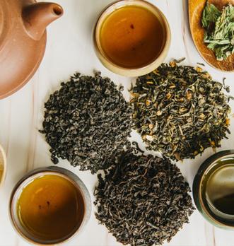 Quelle quantité de thé noir en vrac dans une tasse