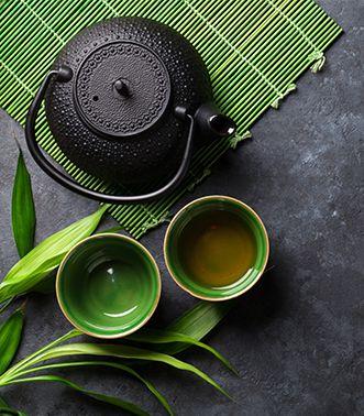 Sachet de thé litre d'eau