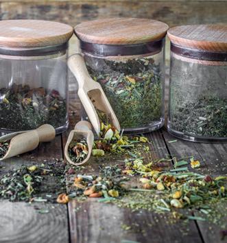 thé bio en vrac